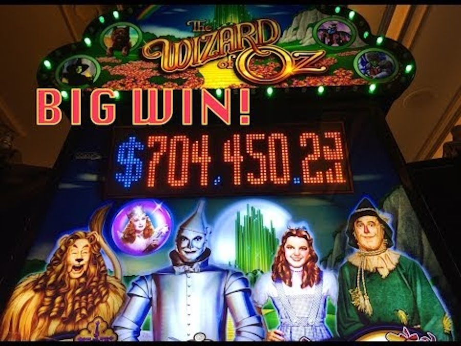 slot machine wizard of oz