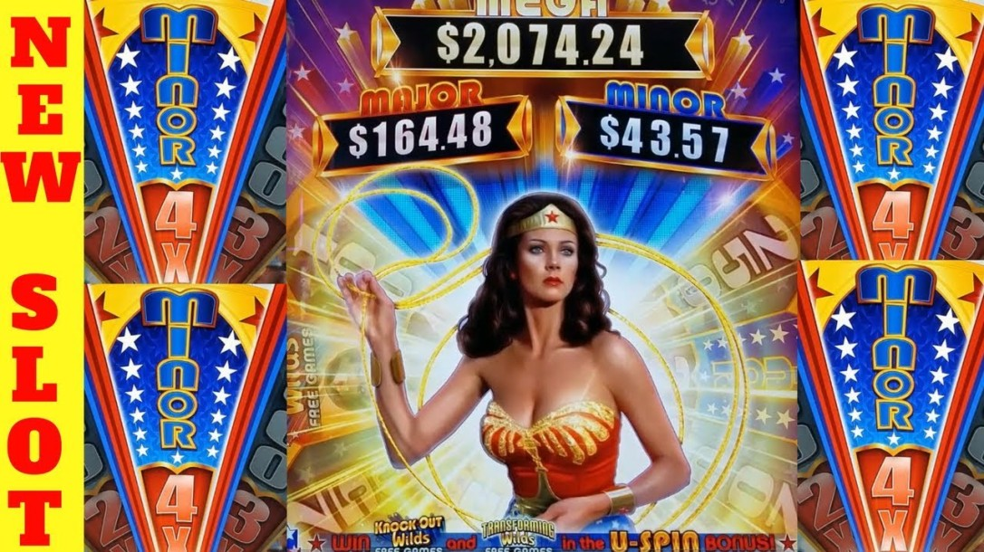 slot machines wonder woman