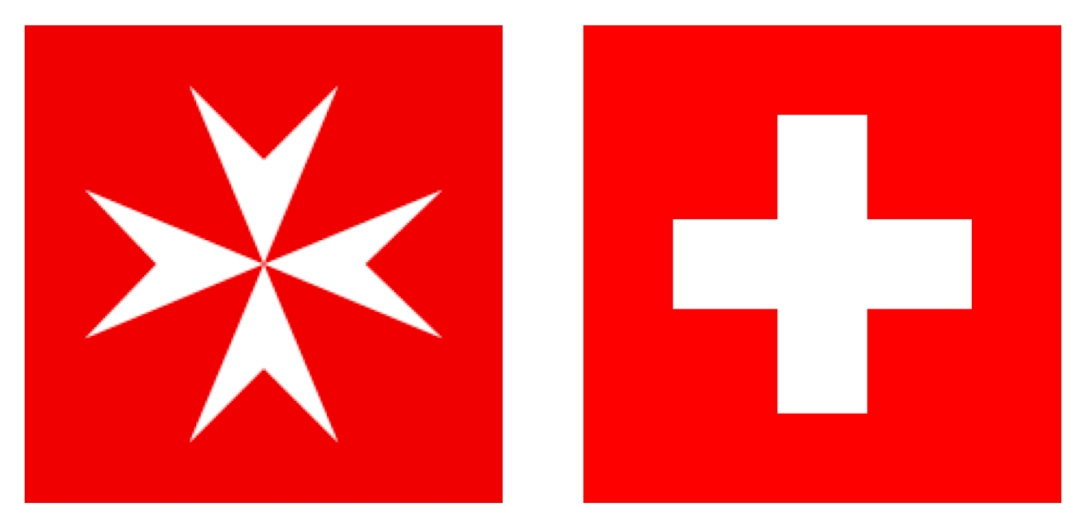 switzerland malta swiss maltese flag